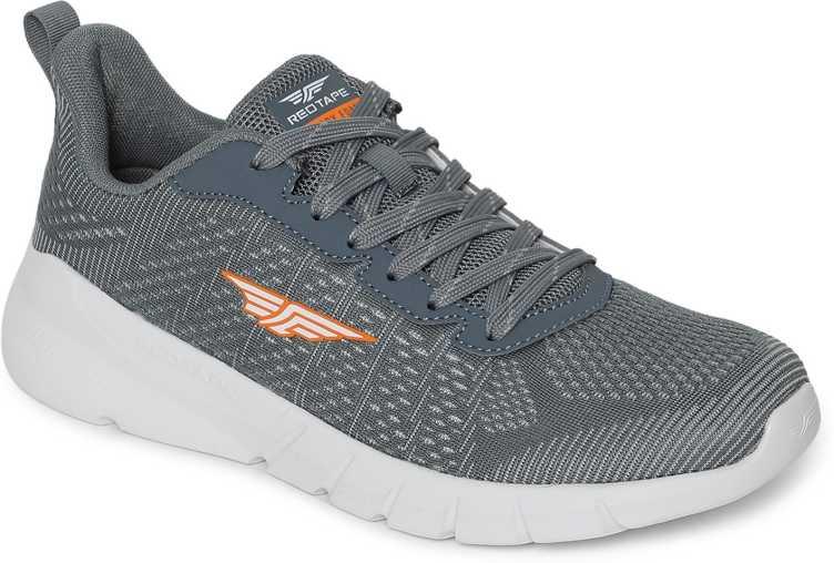 RED TAPEWalking Shoes For Men(Grey)