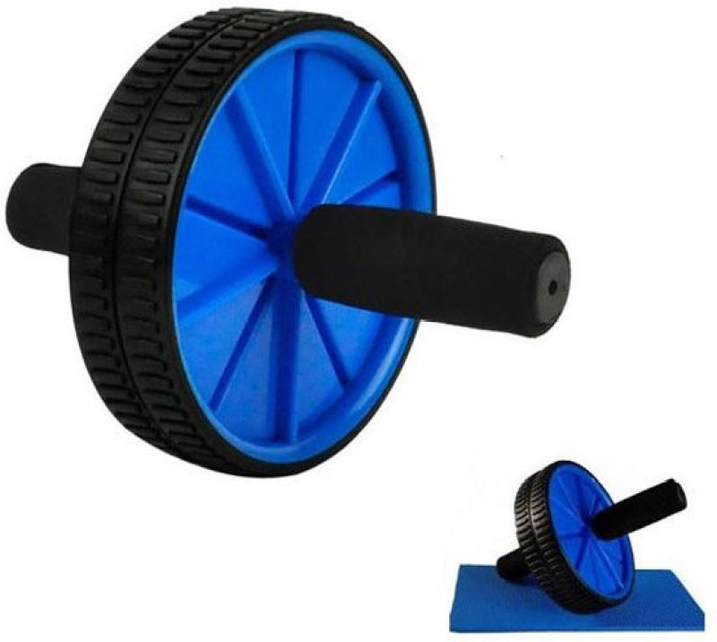 Imported Exercise Wheels Ab Exerciser(Multicolor)