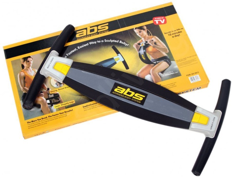 Body Gym Abs Advance Home Advanced Full Workout System Fitness Trainner Kit Ab Exerciser(Black, Yellow)