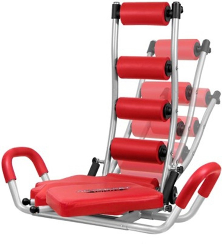 SMS Rocket Twister Abdominal Exercising Home Gym Fitness Ab Exerciser(Red, Black)