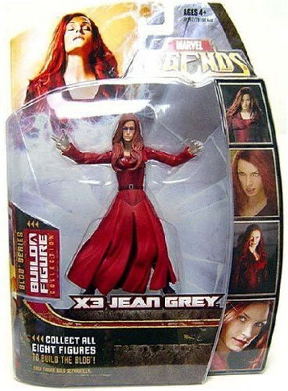 Marvel Legends Series 17 (Hasbro Series 2) Xmen 3 Jean Grey(Multicolor)
