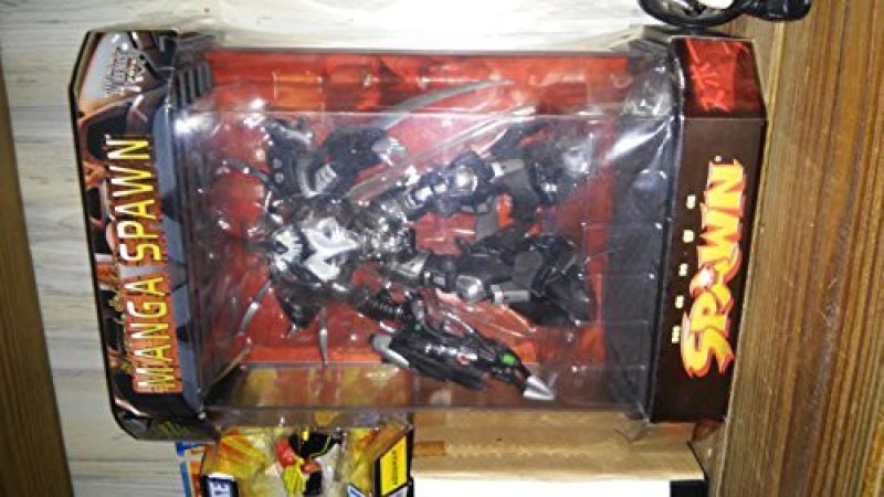 McFarlane Toys 1997 Spawn Special Edition Manga Spawn In Tank Display Case(Multicolor)