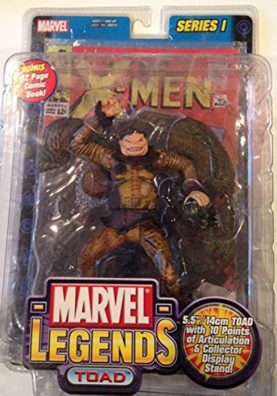 "Marvel Legends "" Toad "" Series I Moc(Multicolor)"