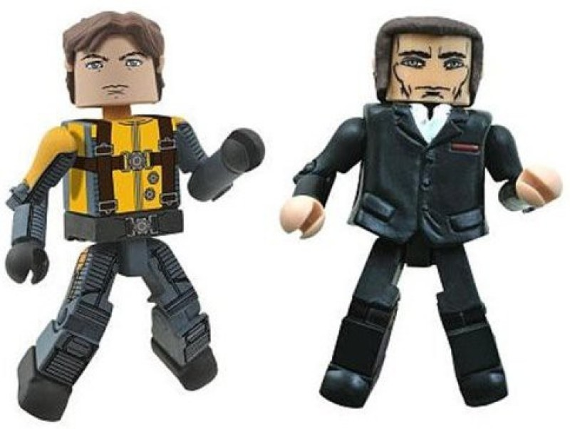 Marvel Minimates Xmen First Class Exclusive Mini 2Pack Professor(Multicolor)