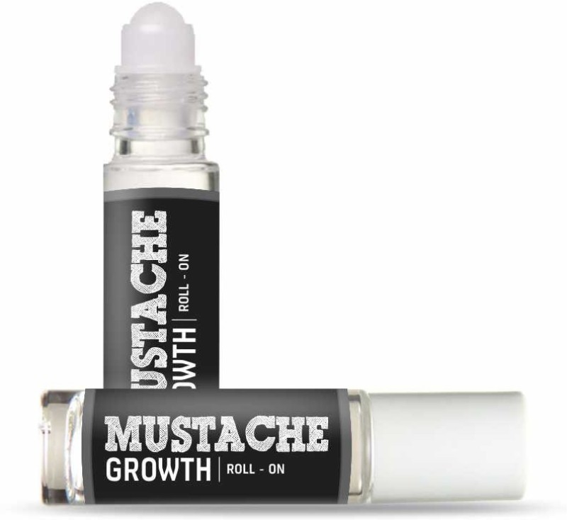 Beardo Mustache Growth Roll-on Hair Oil(8 ml)