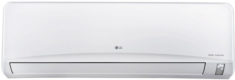 LG 1.5 Ton 3 Star BEE Rating 2017 Split AC - White(JS-Q18NPXA, Aluminium Condenser)