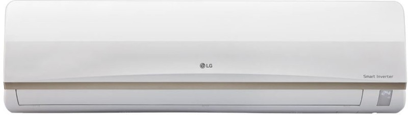 LG 1 Ton Inverter (3 Star) Split AC - White(JS-Q12AUXA, Copper Condenser)