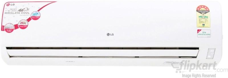LG 1.5 Ton 5 Star Split AC  - White(LSA5NP5A Aluminium Condenser)