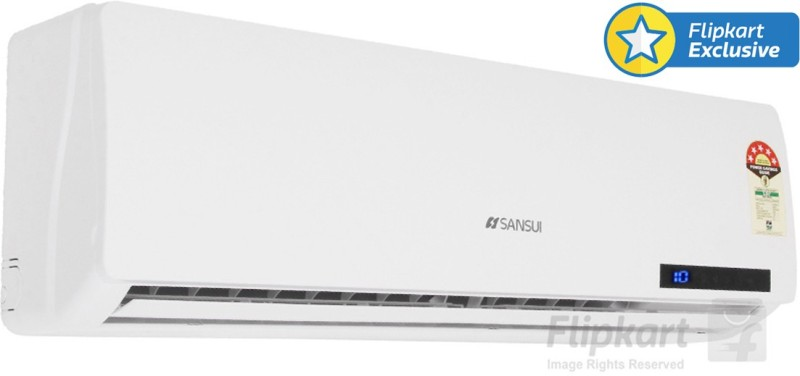 Sansui 1 Ton 5 Star BEE Rating 2017 Split AC - White(A/C SSZ35, Aluminium Condenser)