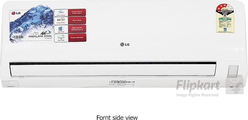 LG 1 Ton 3 Star Split AC - White(LSA3NP3A, Aluminium...