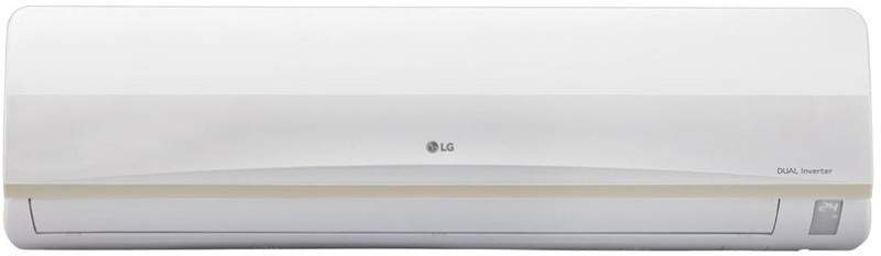 LG 1.5 Ton 3 Star BEE Rating 2017 Split AC - White(JS-Q18PWXA, Aluminium Condenser)