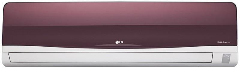LG 1.5 Ton Inverter (3 Star) BEE Rating 2017 Split AC - Red(JS-Q18WTXD, Aluminium Condenser)