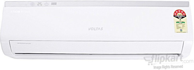 Voltas 1.5 Ton 5 Star BEE Rating 2017 Split AC  - White(185Cya Aluminium Condenser)