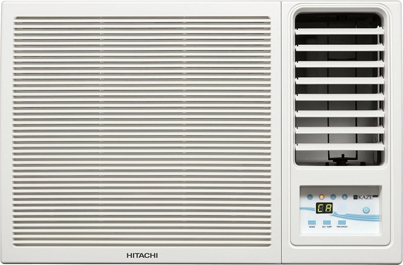 Hitachi 1.0 Ton 3 Star Window AC - White(RAW312KWD)