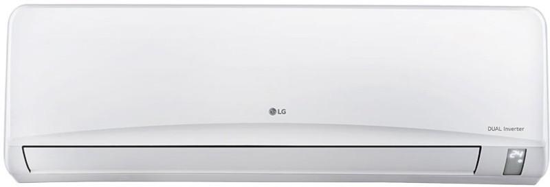 LG 2 Ton 3 Star Split AC - White(JS-Q24NPXA, Aluminium...