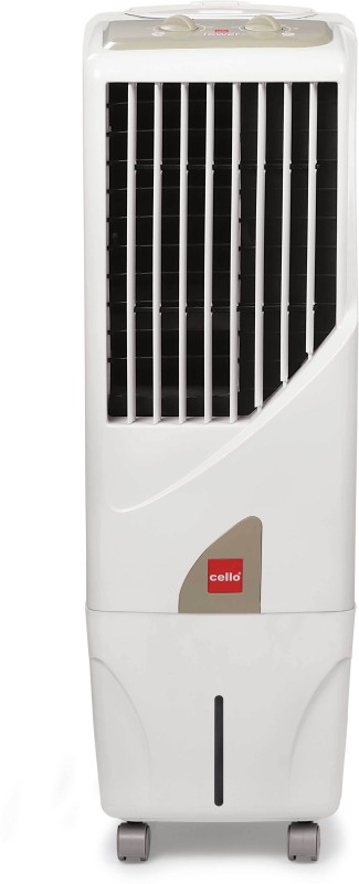 Cello Tower 15 Room Air Cooler(White, 15 Litres)