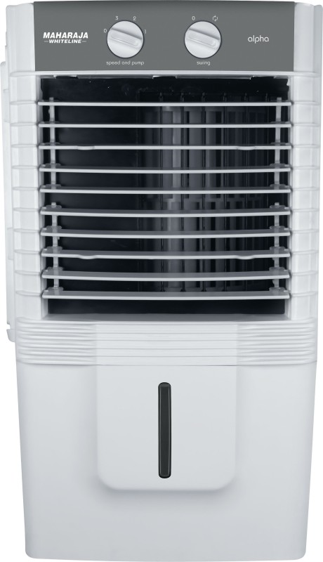 Maharaja Whiteline Alpha (CO-136) Personal Air Cooler(White, Grey, 10 Litres)