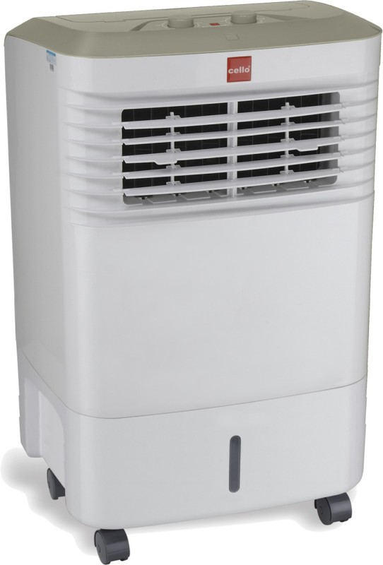 Cello Trendy 30 Room Air Cooler(White, 30 Litres)