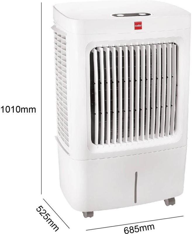 Cello 50 L Room/Personal Air Cooler(White, Osum 50 Plus)