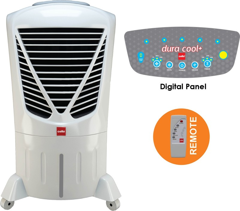 Cello Dura Cool Plus 30 Room Air Cooler(White, 30 Litres)