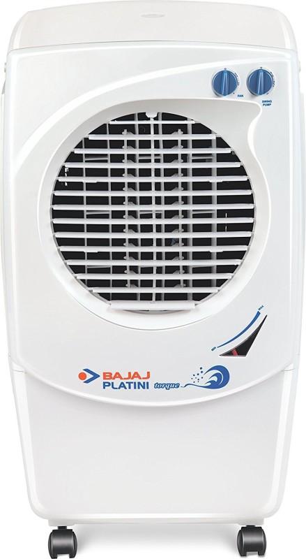 Bajaj Platini Coolest Torque PX 97 Personal Air Cooler(White, 36 Litres)