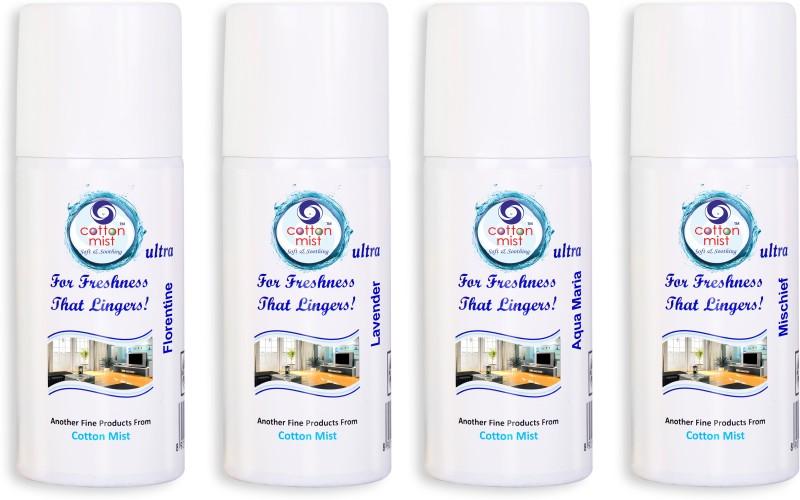 Cotton Mist FLORENTINE-LAVANDER-AQUA MARIA-MISCHIEF Spray(110 ml)