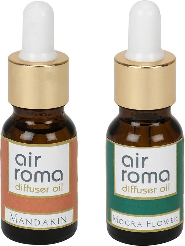Airroma Mandarin, Mogra Flower Aroma Oil(30 ml)