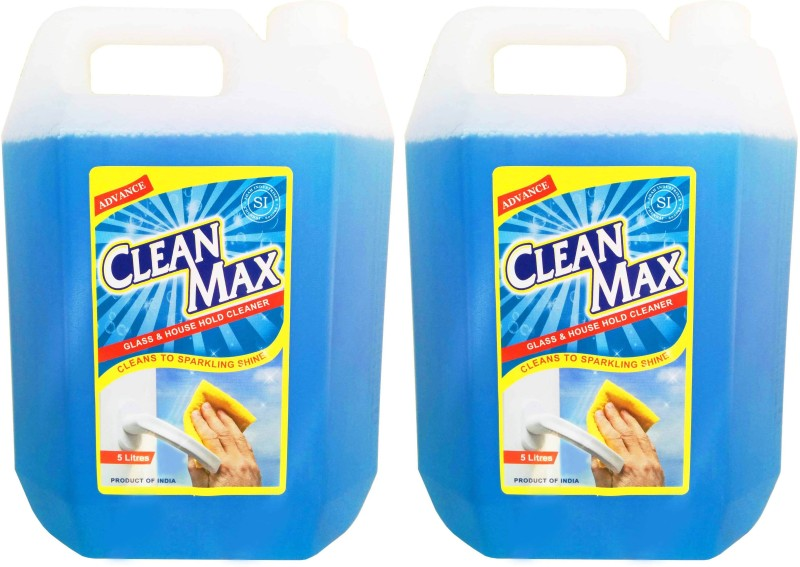 Cleanmax Glass & Household Cleaner 5L - Pack of 2 - All Purpose Cleaner(5 L)
