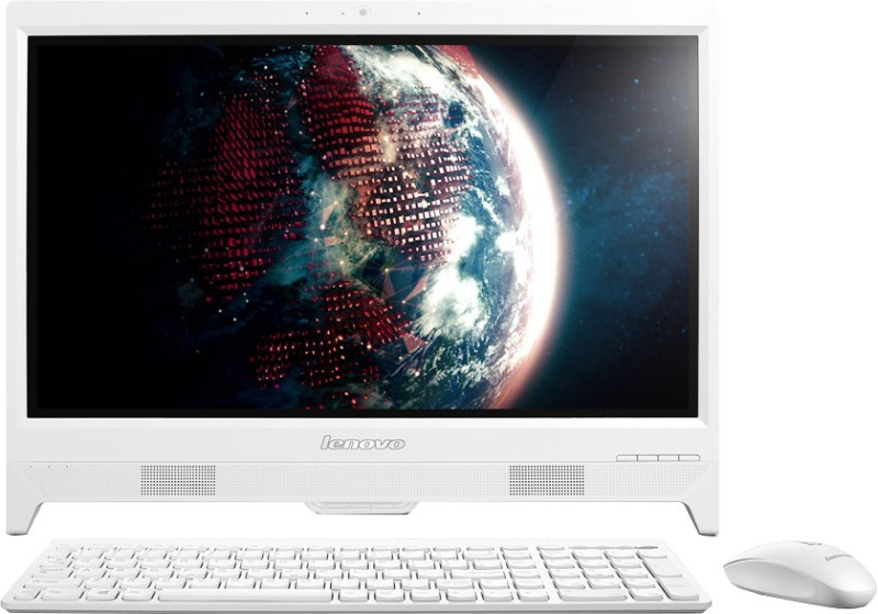 Lenovo C260 All-in-One (CDC/ 2GB/ 500GB/ Win8.1)(White, 342 mm x 486 mm x 48 mm, 3.5 kg, 49.53 Inch Screen)