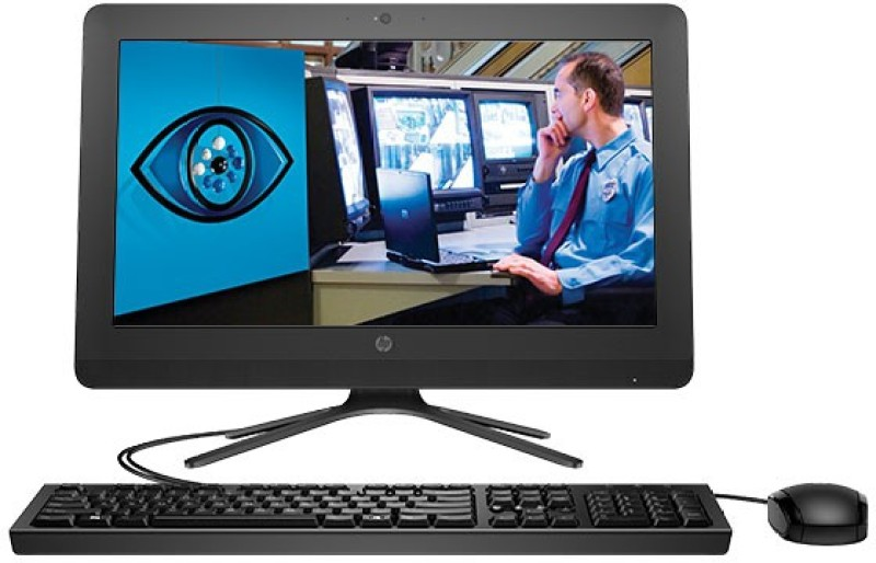 HP - (Pentium Quad Core/4 GB DDR3/1 TB/Free DOS)(Black, 370 mm x 495 mm x 184 mm, 4.4 kg, 19.5 Inch Screen)