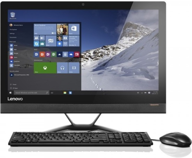 Lenovo - (Core i3 (6th Gen)/4 GB DDR4/1 TB/Free DOS)(Black,...