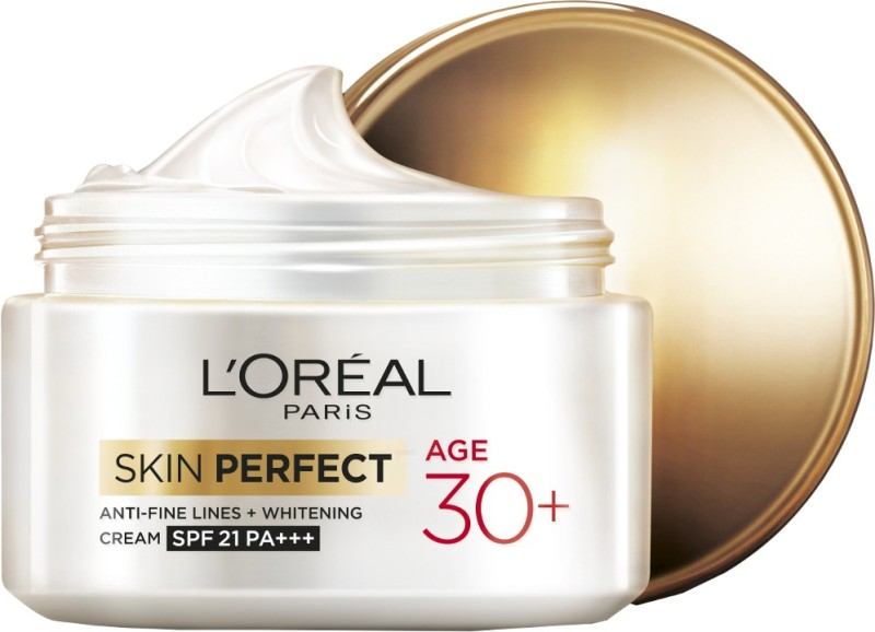 LOreal Paris Skin Perfect Anti-fine Lines and Whitening Cream SPF 21 PA+++(50 ml)