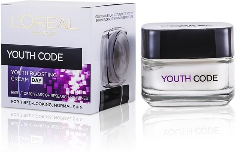 LOreal Paris Dermo-Expertise Youth Code Rejuvenating Anti-Wrinkle Day Cream(50 ml)