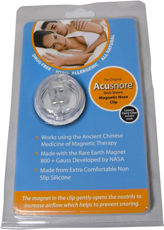 Acusnore Magnetic Nose Clip Anti-snoring Device(Nose Clip)