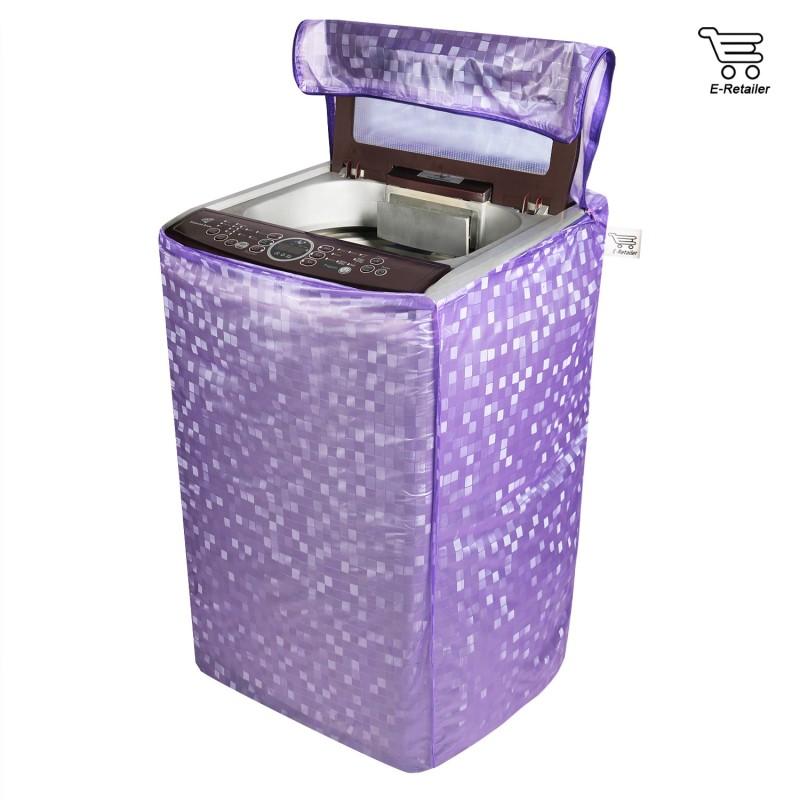 E-Retailer Top Loading Washing Machine  Cover(Purple)