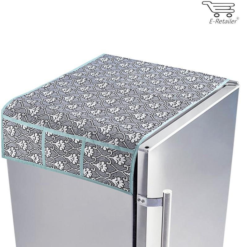 E-Retailer Refrigerator  Cover(Grey)