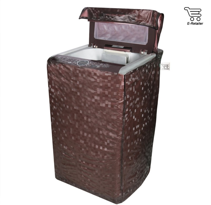 E-Retailer Washing Machine Cover(Brown)