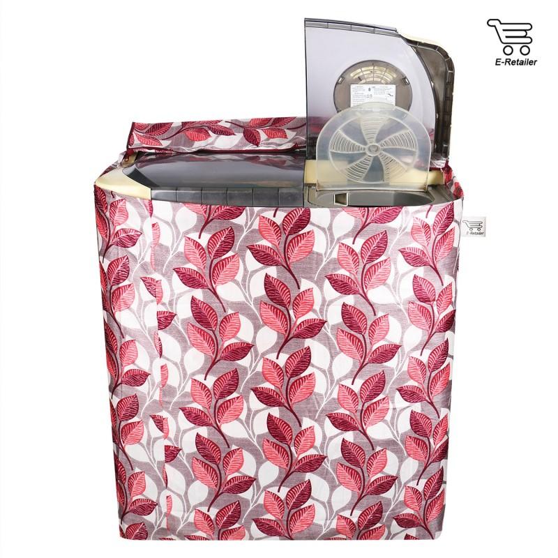 E-Retailer Top Loading Washing Machine  Cover(Pink)