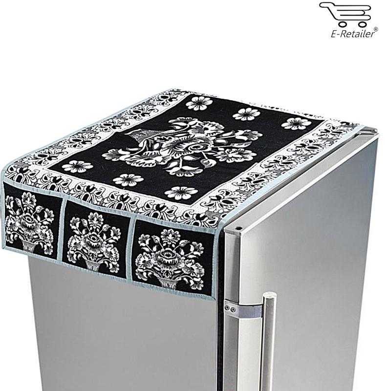 E-Retailer Refrigerator  Cover(Black)