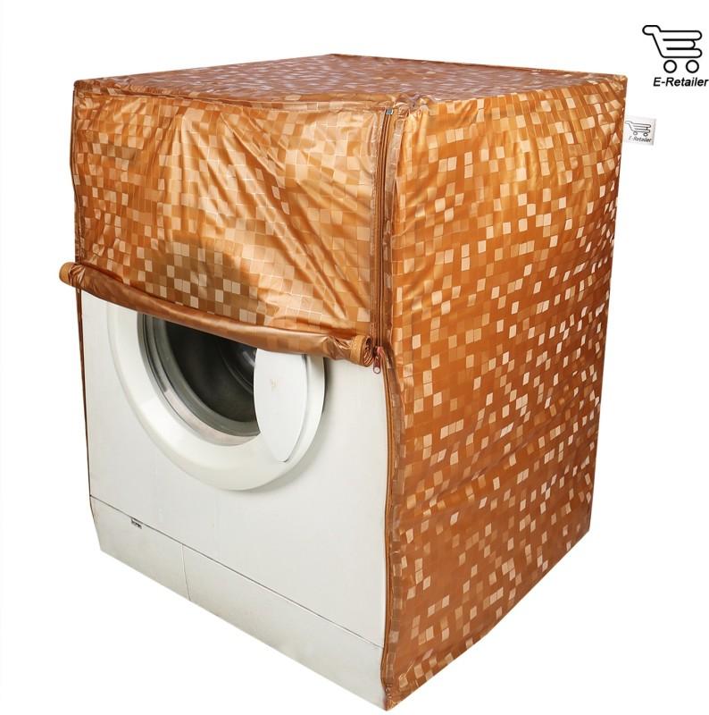 E-Retailer Front Loading Washing Machine  Cover(Orange)