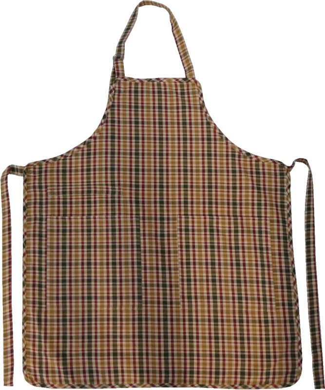 Adt Saral Cotton Chef's Apron - Free Size(Multicolor, Single Piece)