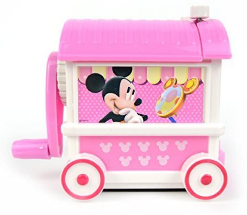 Disney Authentic Disney Lovely Manual Desktop Buffet Car Pattern Pencil Sharpener