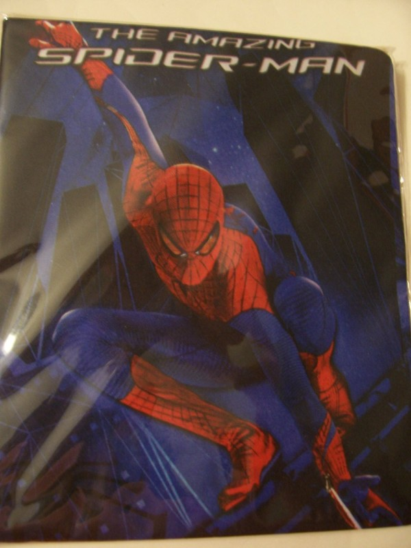 Marvel The Amazing Spiderman Stretchable Fabric Book Cover