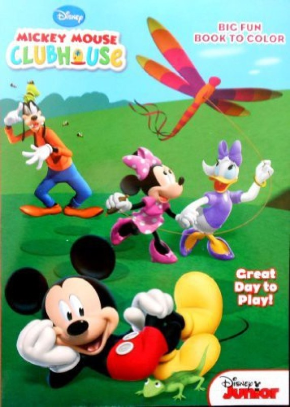 Disney Mickey Mouse Clubhouse Great Day To Play Coloring And Activity Book