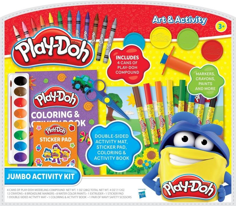 Play-Doh Coloring Kit Art Set