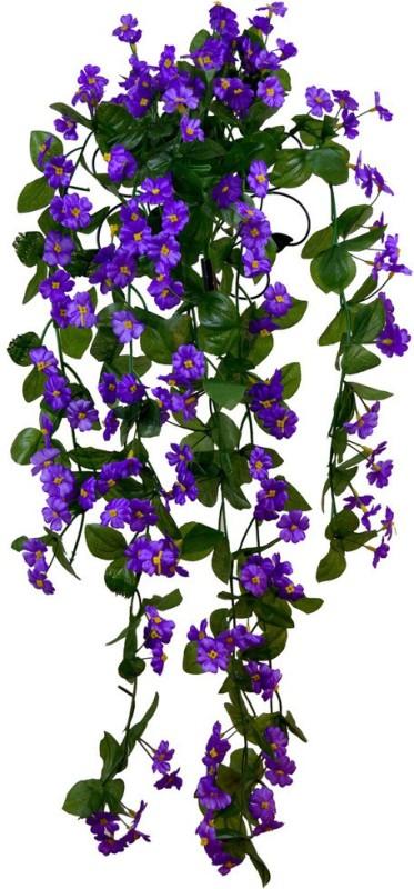The Fancy Mart Flowerplant-150 Multicolor Wild Flower Artificial Flower(32 inch, Pack of...