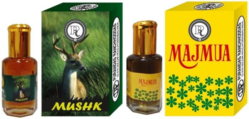 purandas-ranchhoddas-prs-mushk-majmua-6ml-each-herbal-attarmusk