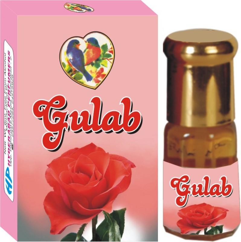 Hyderabad Perfumers 4 Floral Attar(Rose)