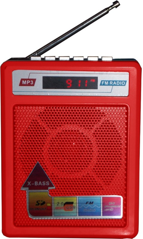 Sonilex S-414-Red MP3 Player(Red, 1 Display)