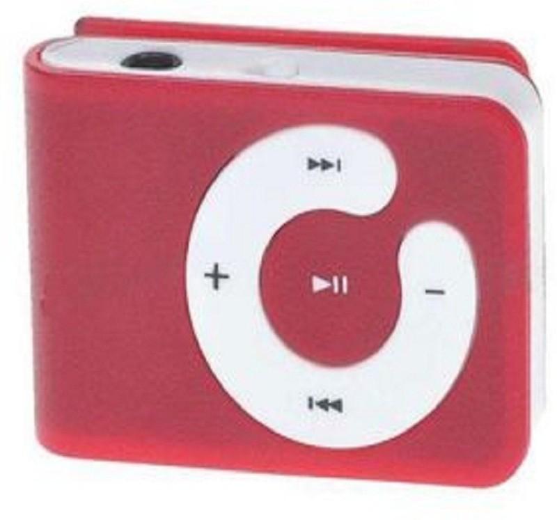 Pixxtech pixxsmp9009 MP3 Player(Red, 0.5 Display)